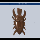 Design an Ancient African Mask Using Autodesk 123D Design