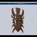 Design an Ancient African Mask Using Autodesk 123D Design