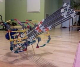 knex halo Machine gun model