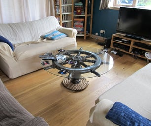 Upcycled Helm Coffee Table
