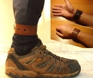 How to Make the Best DIY Trouser Strap in the World (works As Leather Bracelet Too!)