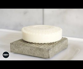 Concrete Soap Dish DIY
