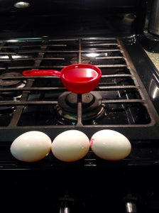 Step 6: Throw in the Eggs and Oil