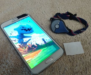 Pokemon Go Plus Mod Using NFC!