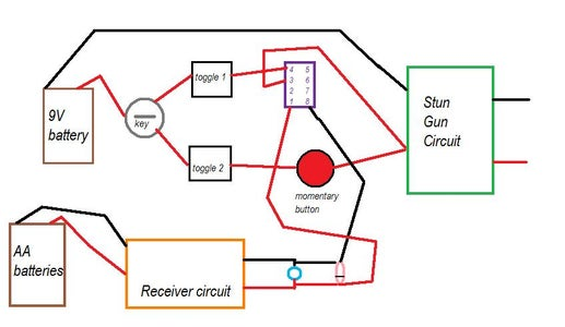 Wiring the Receiver Circuit to the Relay