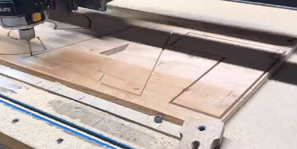 Cutting Out the Letters