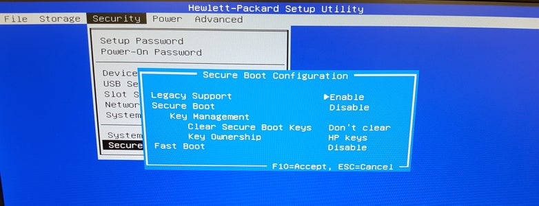 Booting to ISO Device (USB)