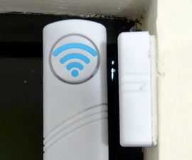 $4 WiFi Door Alarm using a ESP8266 #IoT