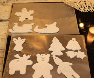 5 Min Clay Christmas Ornaments
