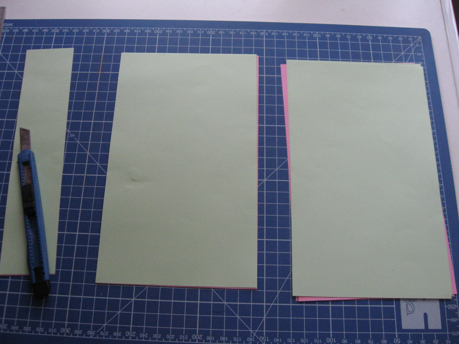 Picture of Cut Paper Into Pieces