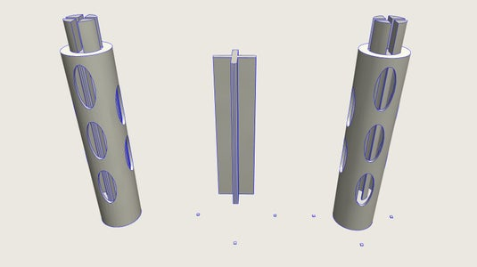 Modeling the Pole Sections