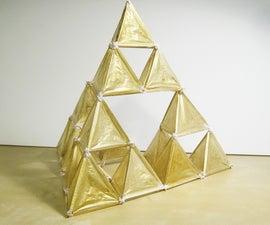 Sierpiński Tetrahedron Fractal Kite