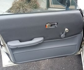 DIY Reupholster Vehicle Door Panels