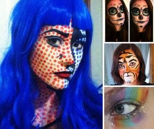 Gore-Free Halloween Makeup