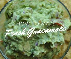 How To Make Fresh Guacamole