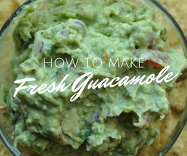 How To Make Fresh Guacamole