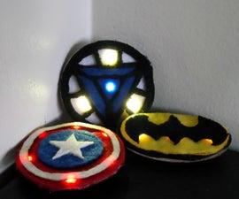 Superhero LED Wearables