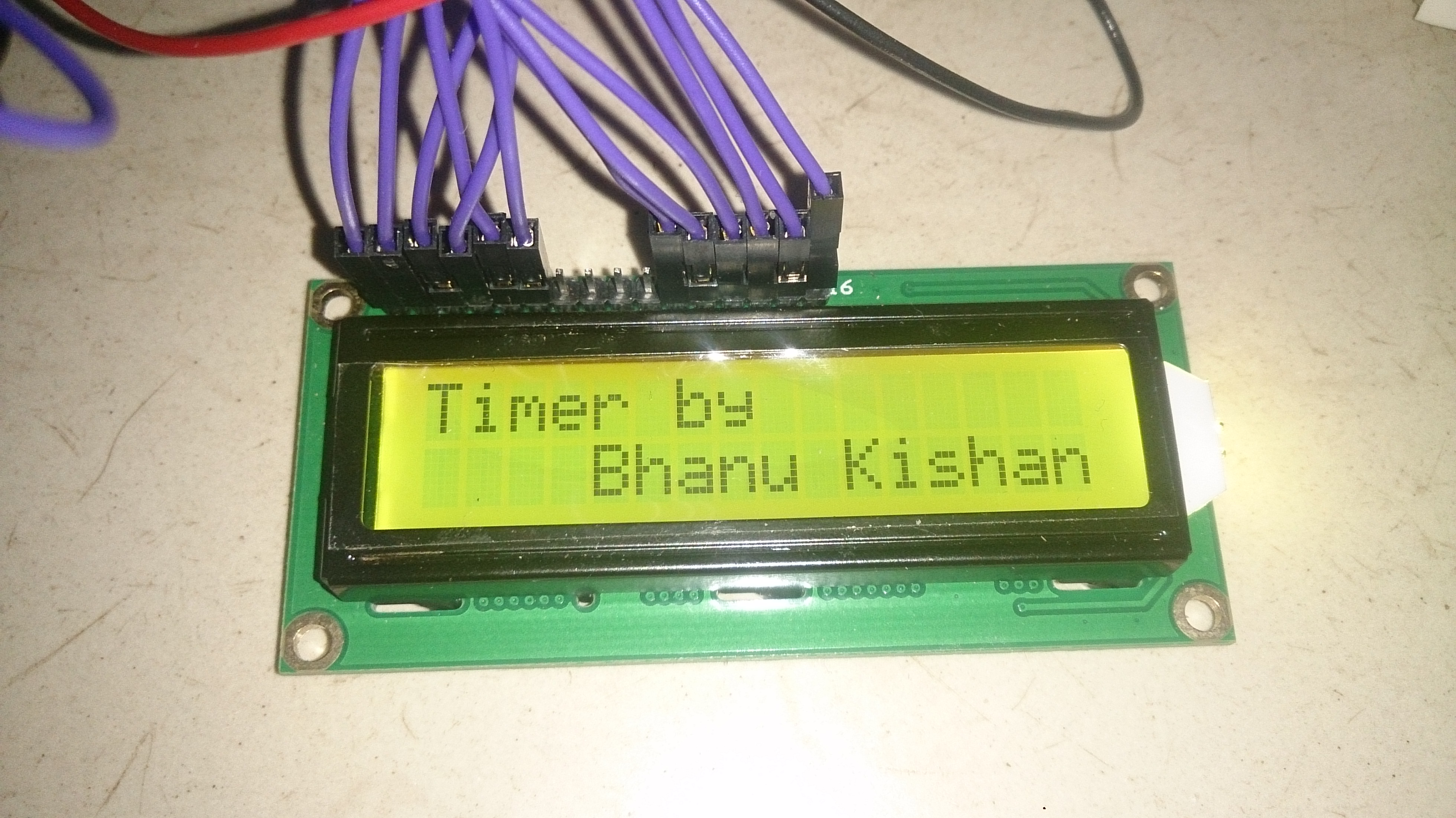 Picture of Arduino Timer