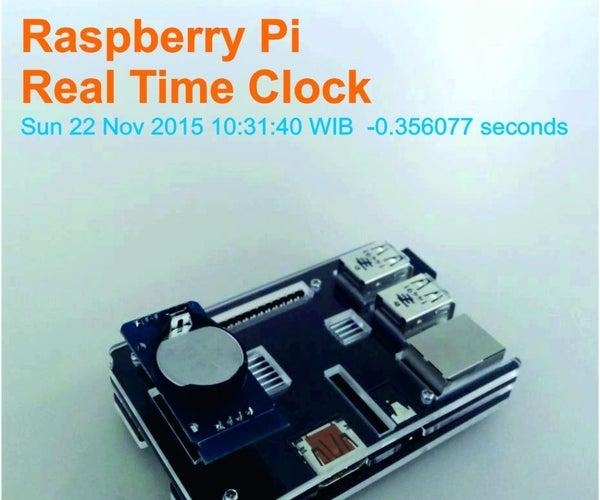 Raspberry Pi - Real Time Clock (RTC)
