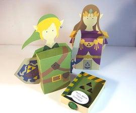 3D Zelda Greeting Card