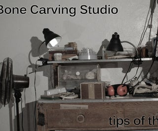 How to Carve Bone Jewelry: Tools and Materials