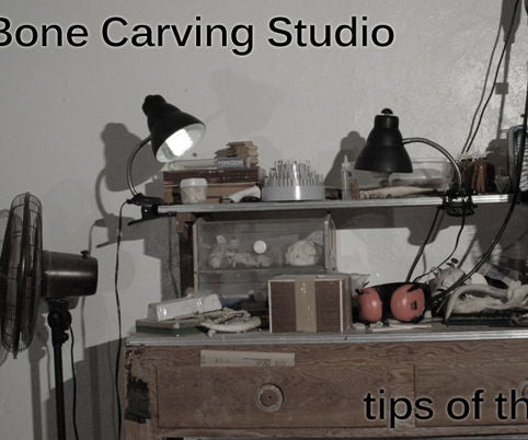 How To Carve Bone Jewelry Tools And Materials 4 Steps With Pictures Instructables