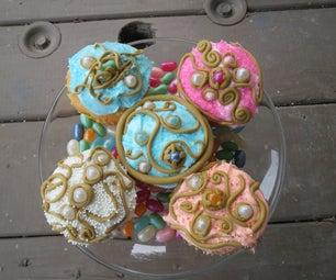 Bejeweled Cupcake Delights