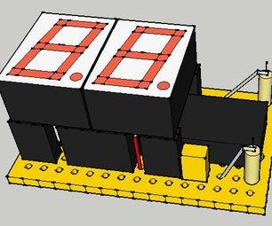 I2C Controlled 7 Segment LED Display