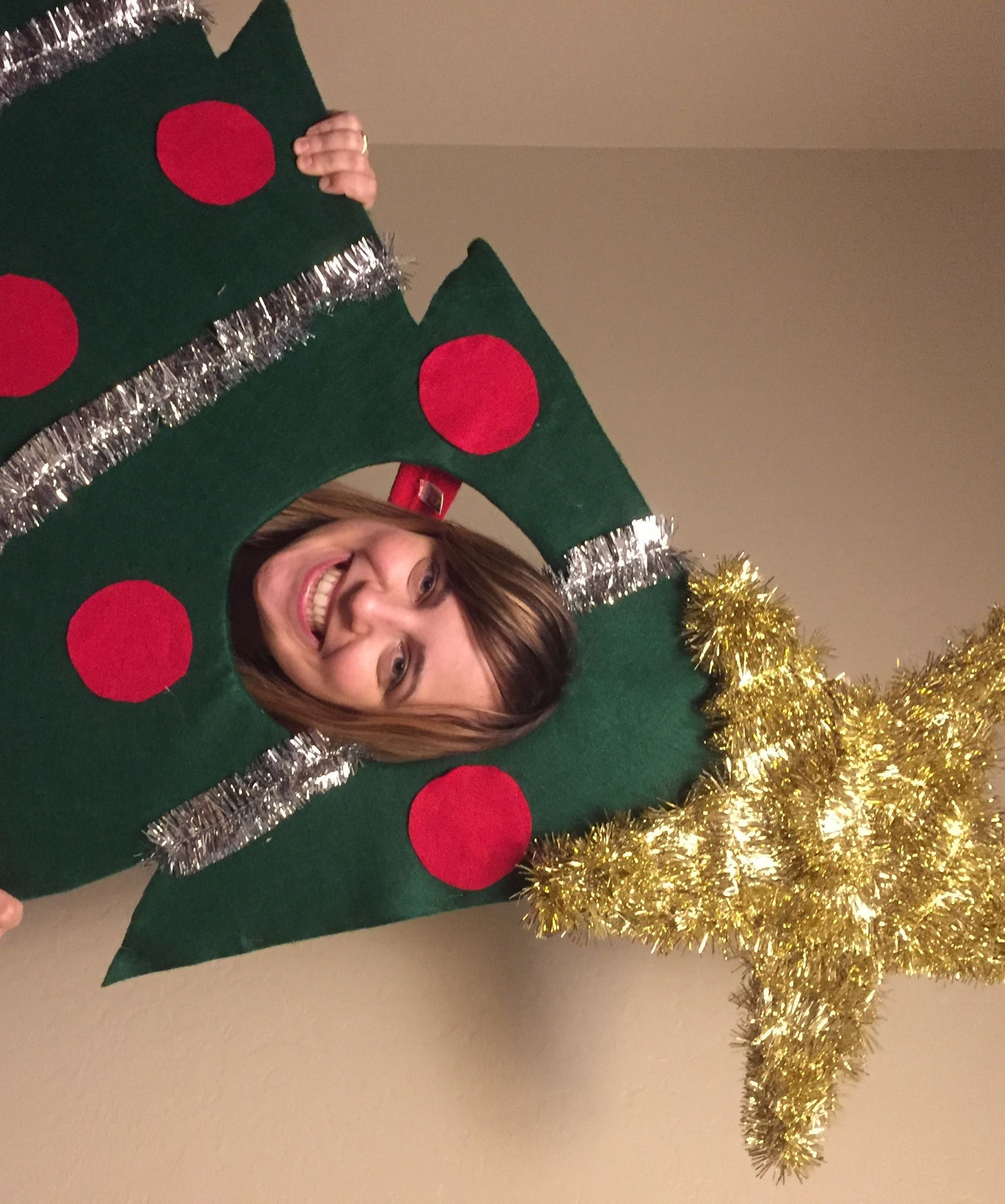 a954e6c7a78 Christmas Tree – Face in Hole Photo Prop   Standin  9 Steps (with Pictures)