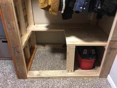 Build the Bottom Shelf