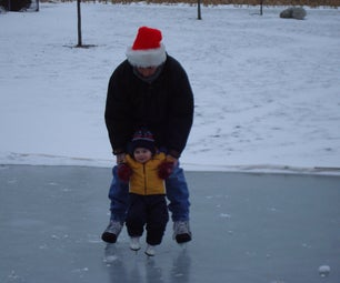 Easy and Inexpensive Ice Rink