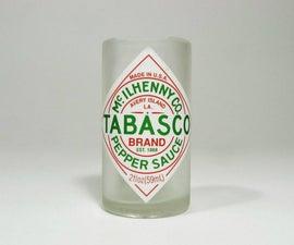 Tabasco Bottle Shot Glass