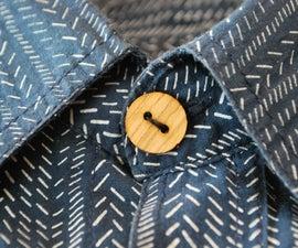 Laser cut Wooden Buttons