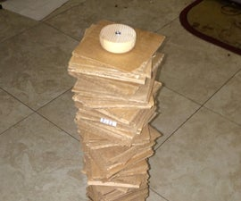Easy Cardboard Cat Tower