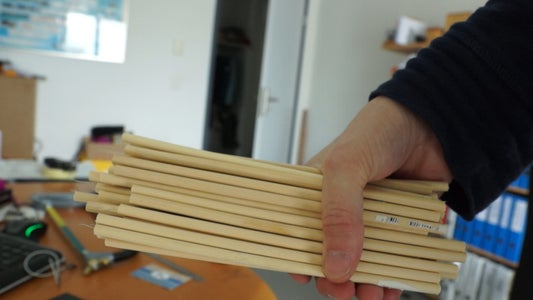 Cut the Wooden Sticks to Length