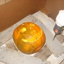 How to CNC machine a pumpkin (or a random object)