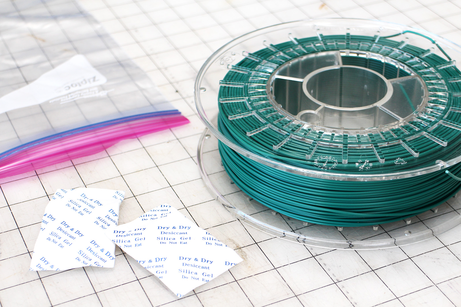 Picture of How to Store 3D Printing Filament