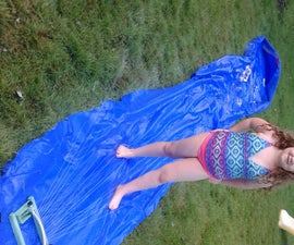 Back Yard Fun or Hillbilly Slip N Slide