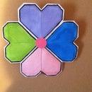 Heart Origami Wall Art