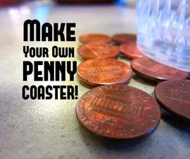 Penny Coaster: Make A Coaster For $.16!