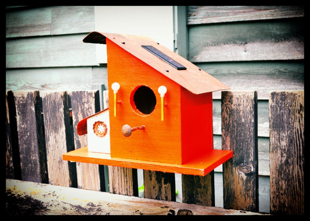 Picture of Bird House With Night Lights