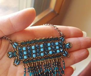 ENGLISH DIY VIDEO TUTORIAL WEST PENDANT WITH BEADS