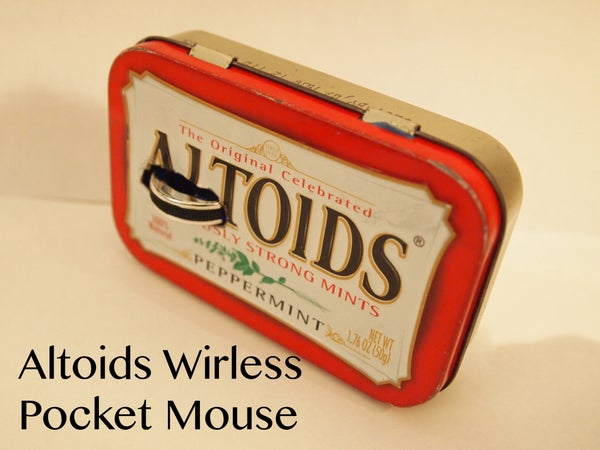 Altoids Wireless Pocket Mouse