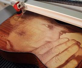 Wood Engraving | Laser Engraved Guitar