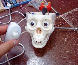 Interactive skull