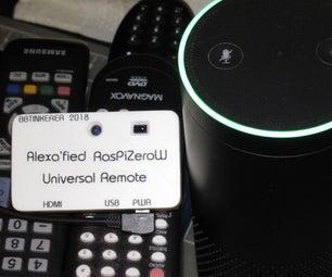 Alexa LIRC Entertainment Remote