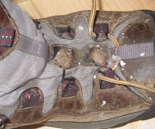 Repairing Ripped Hiking Shoe Fabric Eyelets Quick and Easy