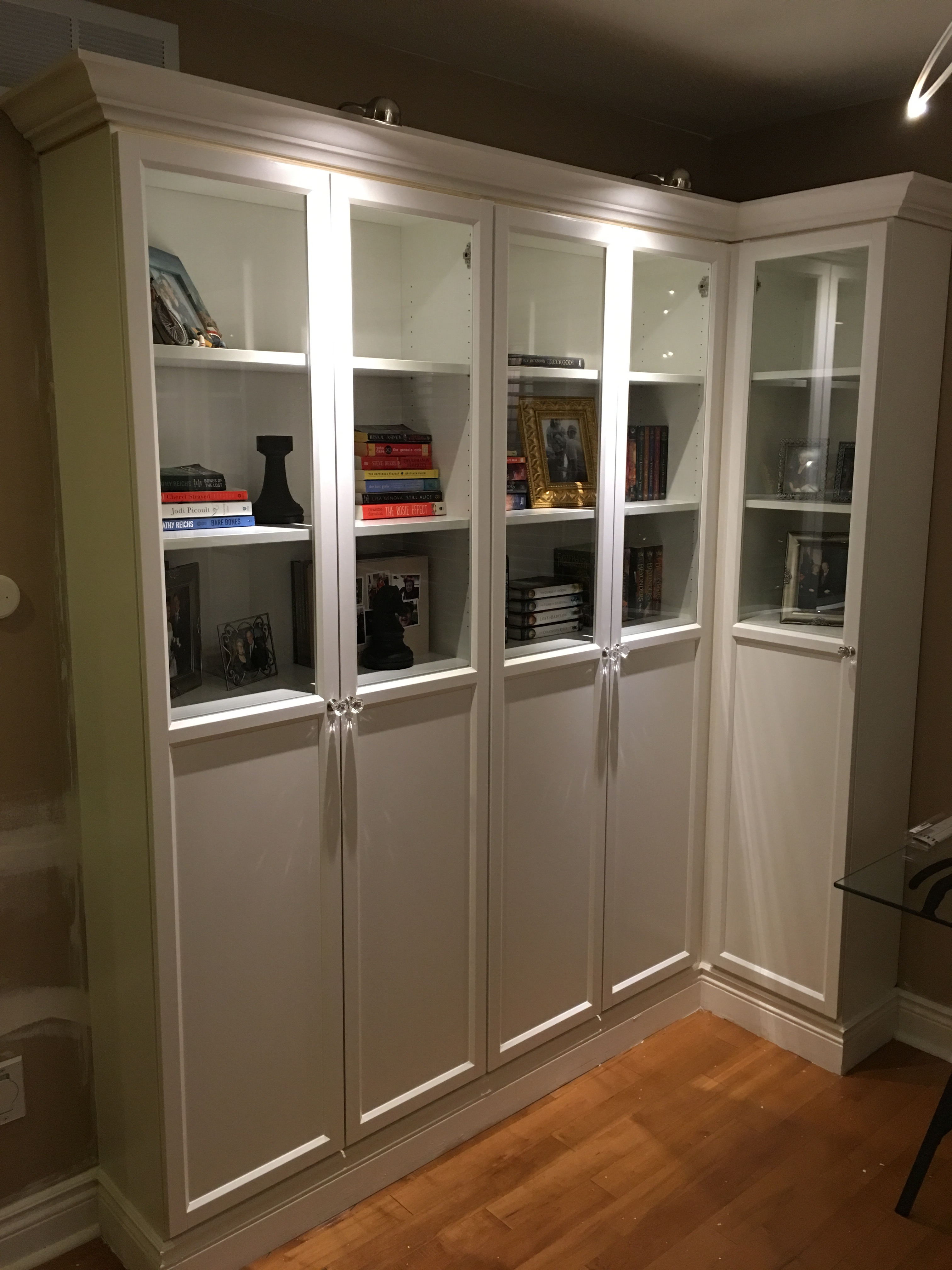 Picture of How to Make Ikea Bookshelves Look Like a Professional Built-in