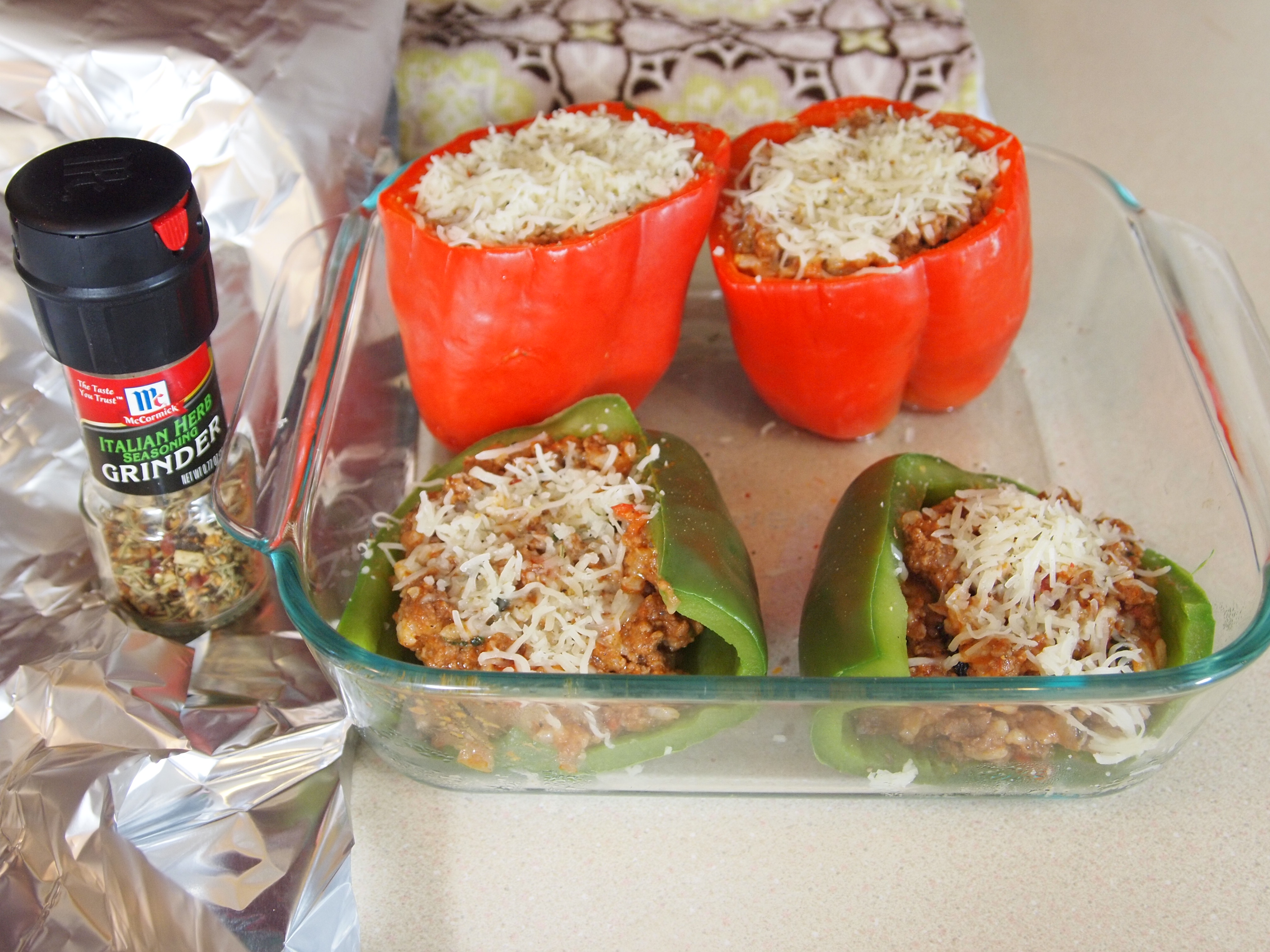 Picture of Fill the Peppers and Return to Oven