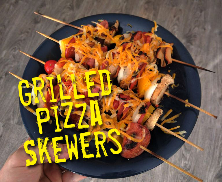Picture of Grilled Pizza Skewers